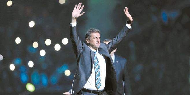 Alkışlar Hamzaoğlu'na