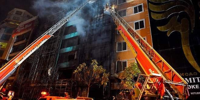 Karaoke salonunda yangın: 13 ölü