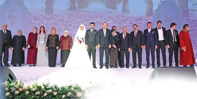 Ankara'da görkemli nikah