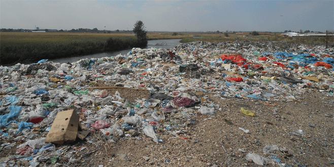 Karacabey çöplüğüne Büyükşehir eli