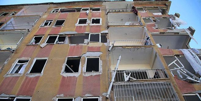 'Patlamada hasar gören vatandaşların zararı karşılanacak'