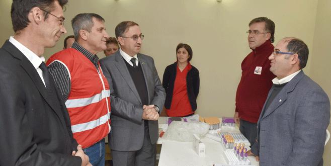Mustafakemalpaşa'da kök hücre bağışı