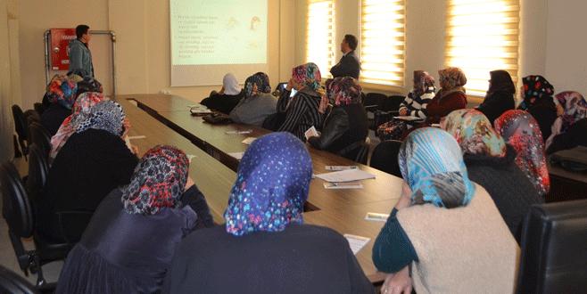 Büyükorhan'da iş güvenliği eğitimi