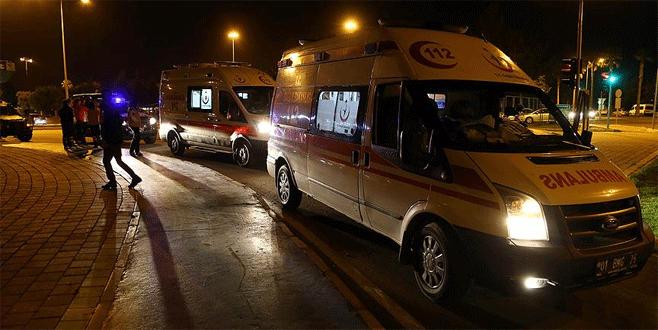 Adana'da PKK yandaşları 1 polisi şehit etti