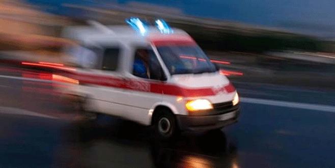 Zırhlı araç ile otomobil çarpıştı: 2 polis yaralı
