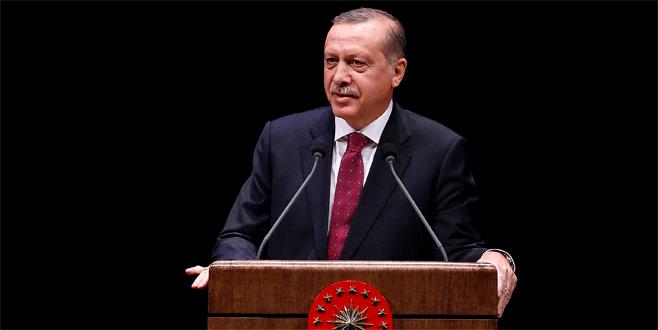 Erdoğan: 'Sırtını bir yere dayayanlar bedelini ödeyecek'