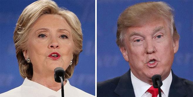 ABD'de seçim günü: Clinton ve Trump oylarını kullandı