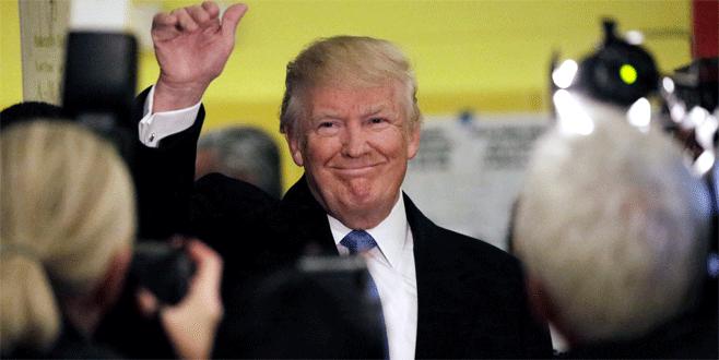 Donald Trump, ABD'nin yeni başkanı oldu!