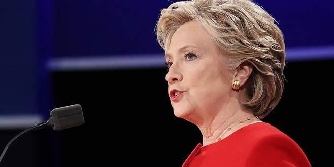 Clinton cephesinden ilk açıklama