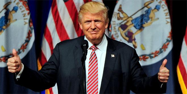 ABD yeni başkanı Trump'tan zafer konuşması
