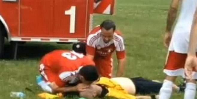 Kırmızı kart gören futbolcu hakemi öldürdü