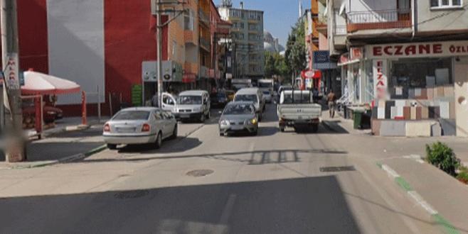 Osmangazi'de yol bakım çalışması
