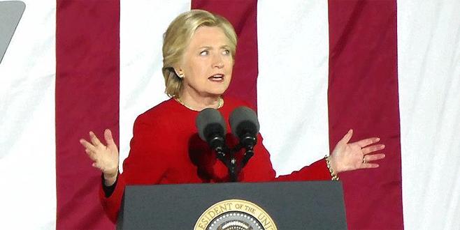 Seçimi kaybeden Clinton'dan ilk açıklama
