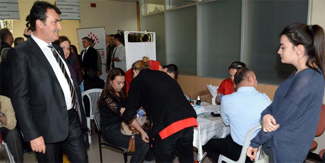Osmangazi'den 'kan kardeşliği'ne destek
