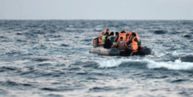 Suriyelerle kaçmak isteyen FETÖ'cü bottan düşünce yakalandı