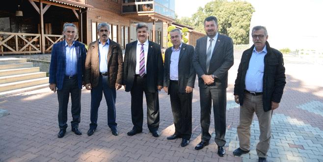 Tarım Komisyonu'ndan Karacabey'de inceleme