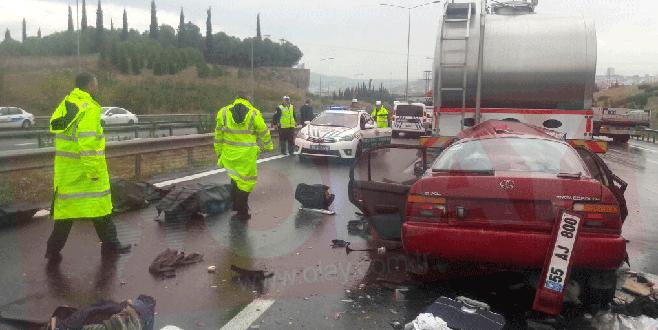 Bursa'da trafik kazası: 3 ölü