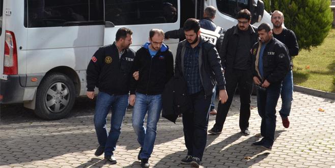 İnegöl'de FETÖ operasyonu: 15 gözaltı