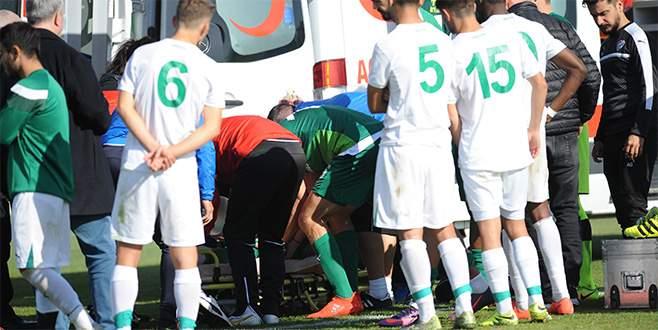 Bursaspor'da sakatlık şoku!