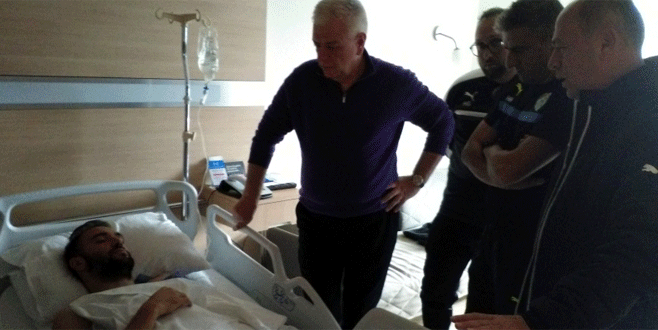 Başkan Ali Ay'dan Serdar Kurtuluş'un sakatlığıyla ilgili açıklama