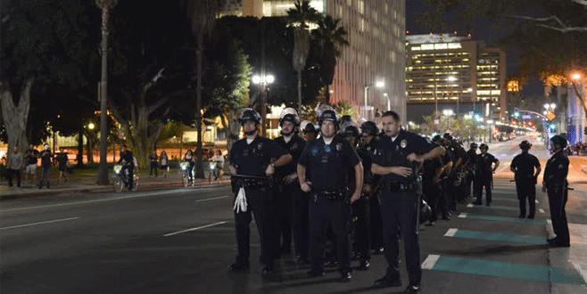 ABD'de Trump protestolarında 1 gösterici vuruldu