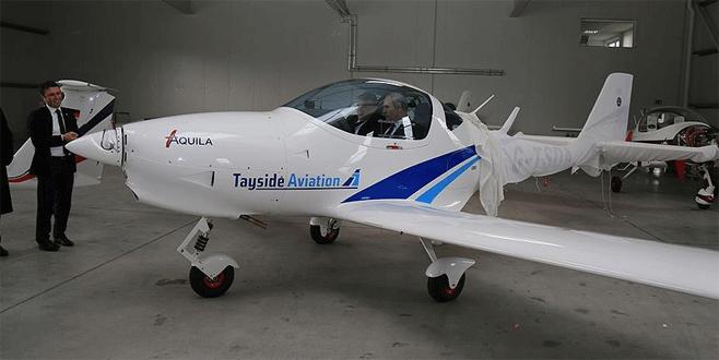 Bursalı firmaya ait AQUILA uçağına TUSAŞ'tan tam not