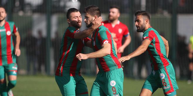 Mudanyaspor 'Yıldırım' gibi: 2-1