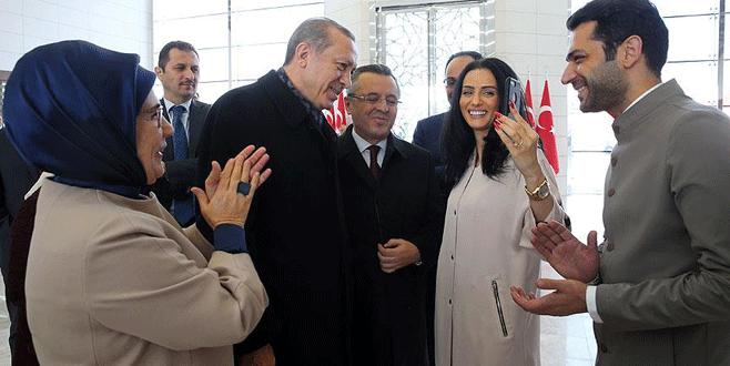 Cumhurbaşkanı Erdoğan oyuncu Yıldırım'a kız istedi