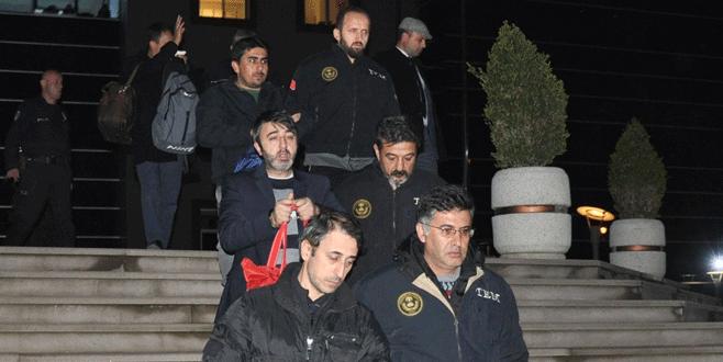 Bursa'da 'ByLock' kullanan 5 öğretmen tutuklandı