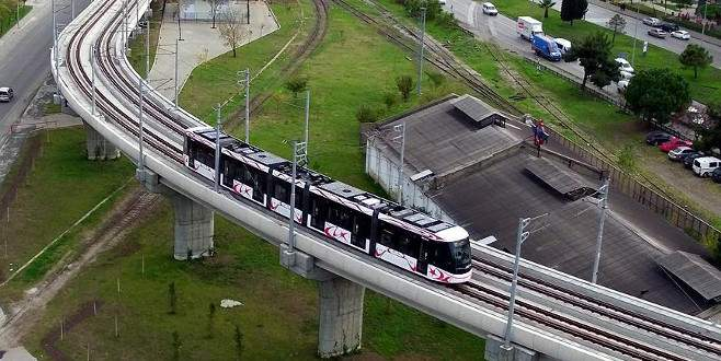 Yerli tramvayla 700 bin Euro yurtiçinde kaldı