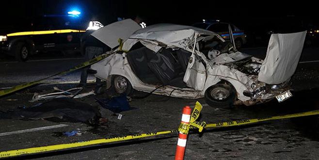 Korkunç iki kaza: 3 ölü, 7 yaralı
