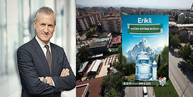 Bursaspor'un sponsorlarından Erikli, Bursa'daki yatırımlarını artırıyor