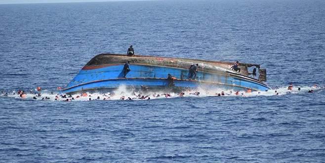 Akdeniz'de göçmen faciası! Onlarca kişi kayıp