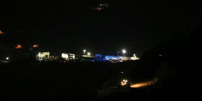Şirvan'da maden ocağında göçük