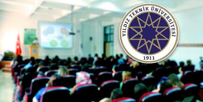 Yıldız Teknik Üniversitesi'nde FETÖ operasyonu