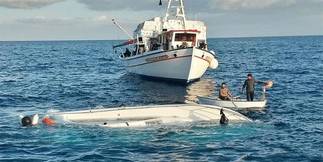 Didim'de göçmenleri taşıyan tekne alabora oldu: 6 ölü