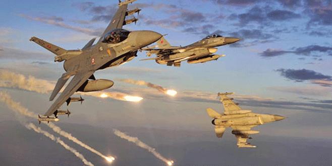 Türk jetlerine Suriye engeli