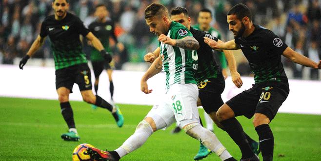 Bursaspor 0-0 Akhisar Belediyespor