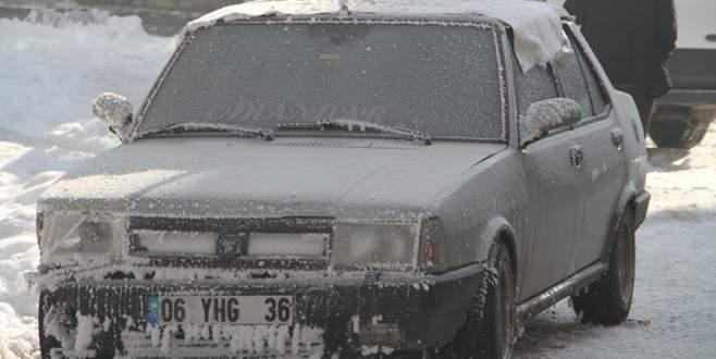 Dondurucu hava hayatı olumsuz etkiledi