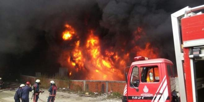 Bayrampaşa'daki yangın kontrol altına alındı