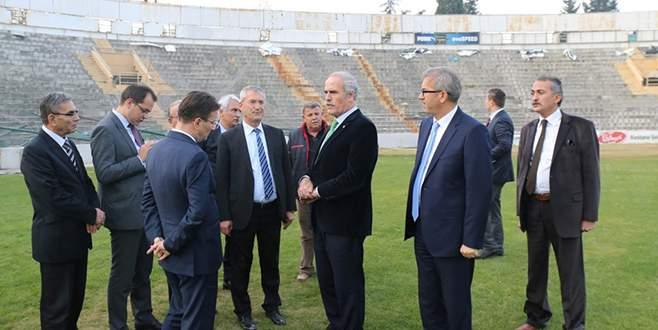 Bursa Atatürk Stadyumu meydan oluyor