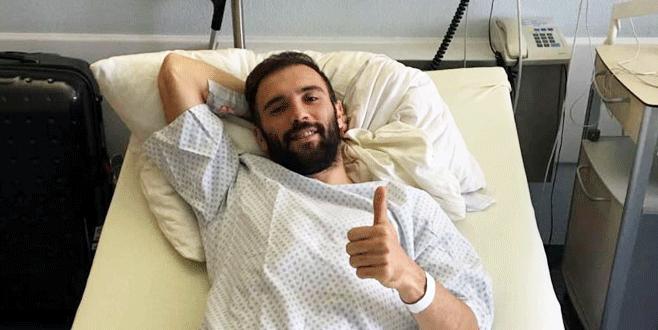 Serdar Kurtuluş Almanya'da ameliyat oldu