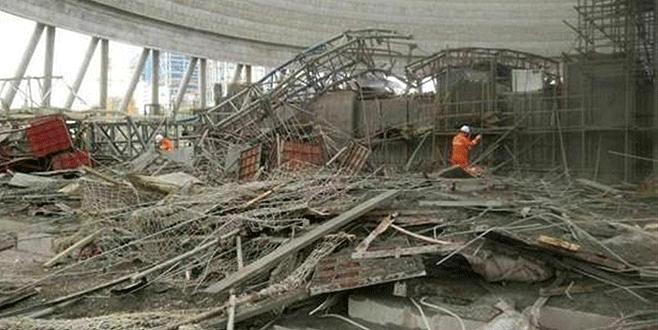 Elektrik santralı inşaatı çöktü: En az 40 ölü