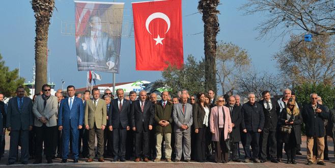Öğretmenler Günü Mudanya'da kutlandı