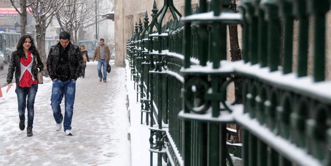 Bursa'ya kar yağışı geliyor