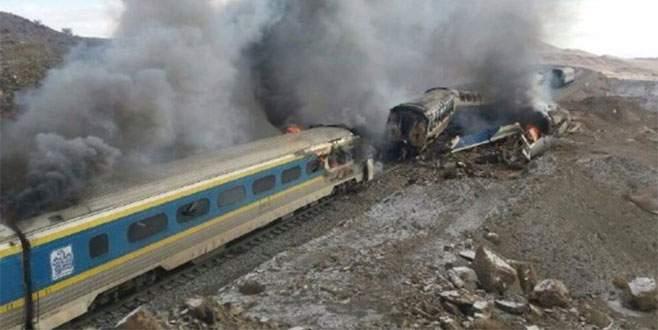 İran'da tren kazası