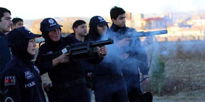 Afgan kadın polisler Sivas'ta eğitiliyor