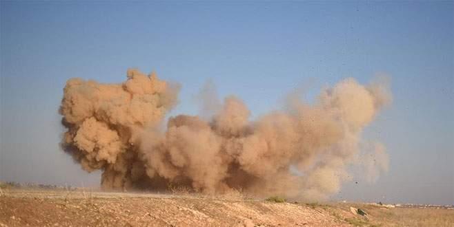 PYD'nin Haseke'deki askeri kampında patlama