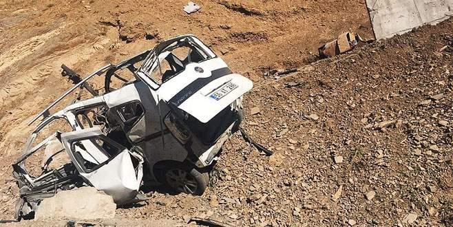Asker ziyaretine giden aileye terör saldırısı: 1 ölü, 1 yaralı