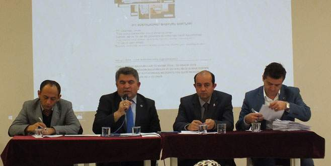 TOKİ Büyükorhan'a 192 konut yapacak